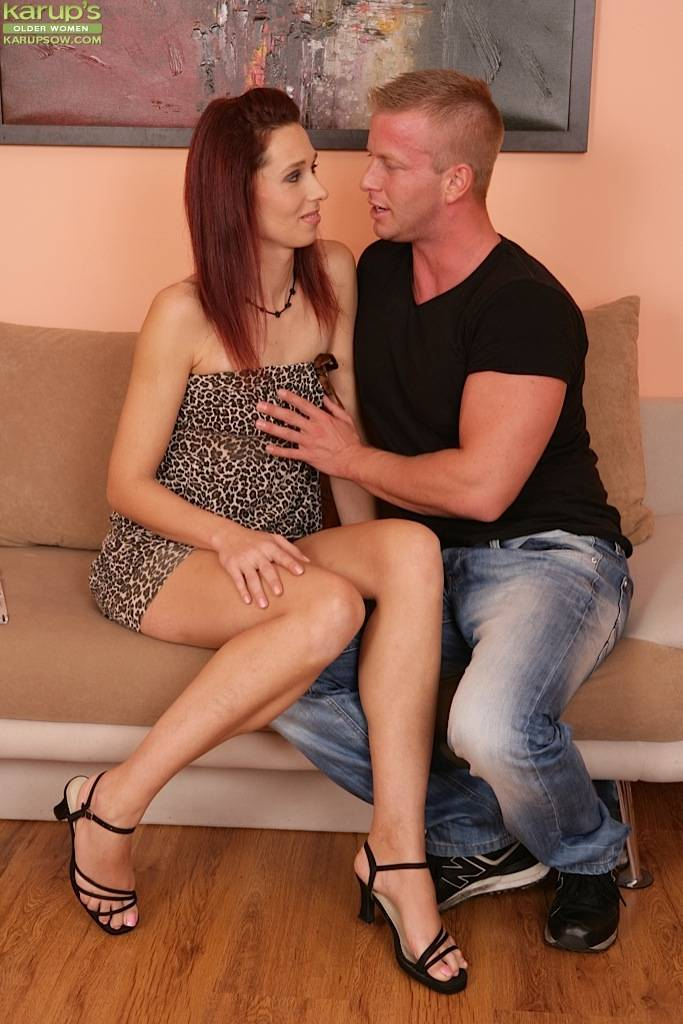 Redhead Milf Rebecca Red Gets Fucked From Behind. At Karupsow