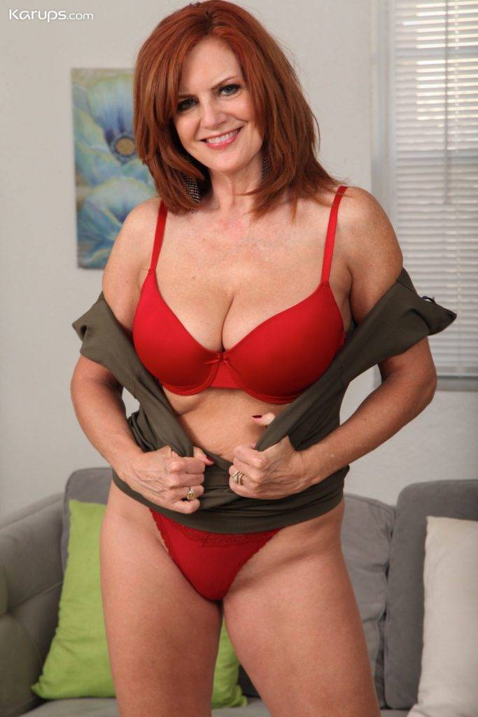 Beautiful Milf Andi James Gets Naughty In Her Photos At Karupsow